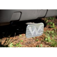Personalized Billet Aluminum Hitch Covers